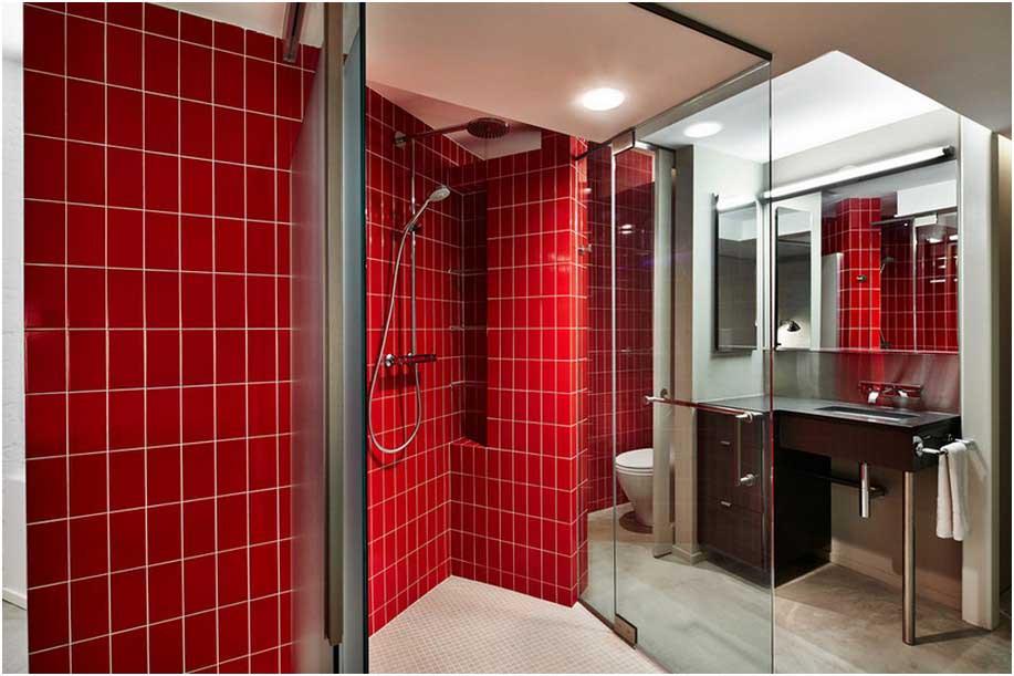 10 Rote Badezimmer Deko Ideen - de-haus