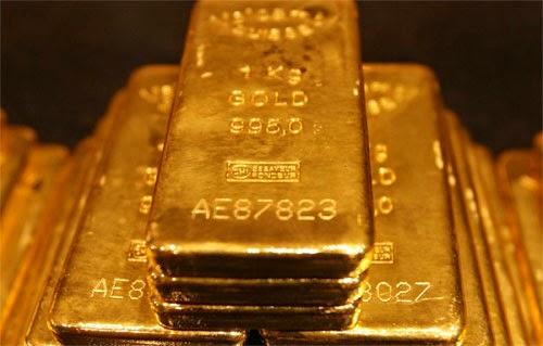 gold price falls because of coronavirus fears