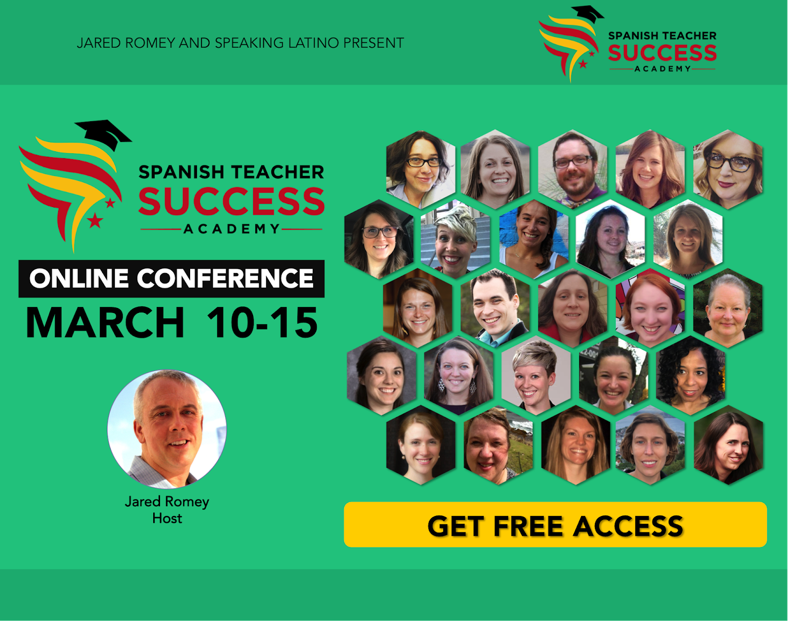 Spanish Teacher Success Academy - FREE online professional development for Spanish teachers - shared by Mis Clases Locas
