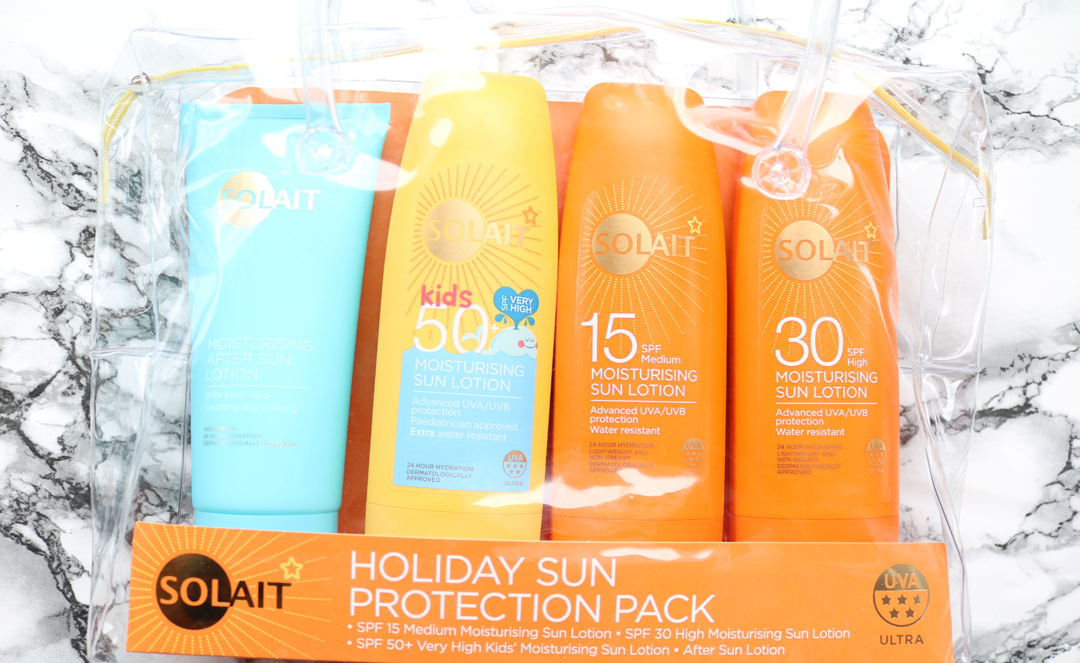 Solait Holiday Sun Protection Pack