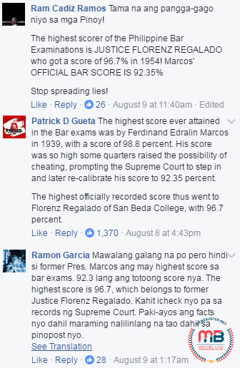 DID MARCOS CHEATED?: Marcos Is Not The Highest Bar Exam Scorer Back In His Time! Find Out The Whole Story Here!