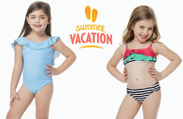 Mallas y bikinis para nenas. Mallas y bikinis para niñas.