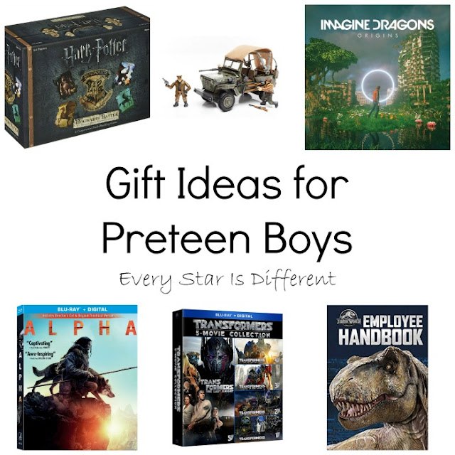Gift Ideas for PreteenBoys