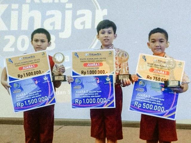 Inilah Juara Kuis Kihajar Jawa Barat 2018 Tingkat SD dan SMP