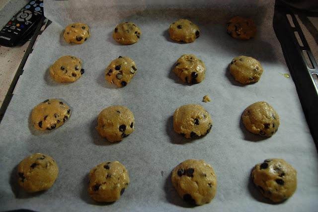 como hacer cookies de chocolate