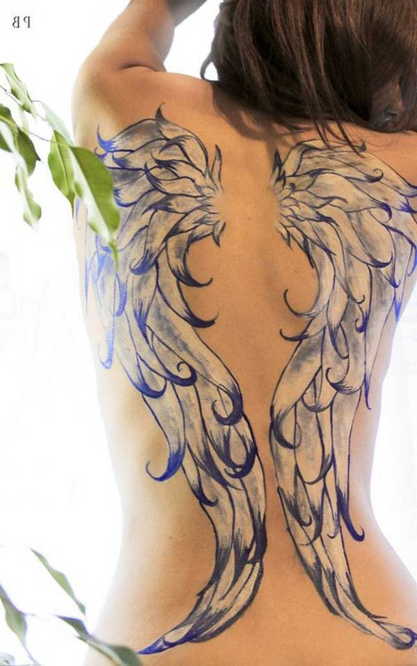 beyaz kanat dövmesi white wing tattoo