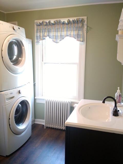 Renovation Reveal Pre Civil War Home Bathroom Amp Laundry Combo