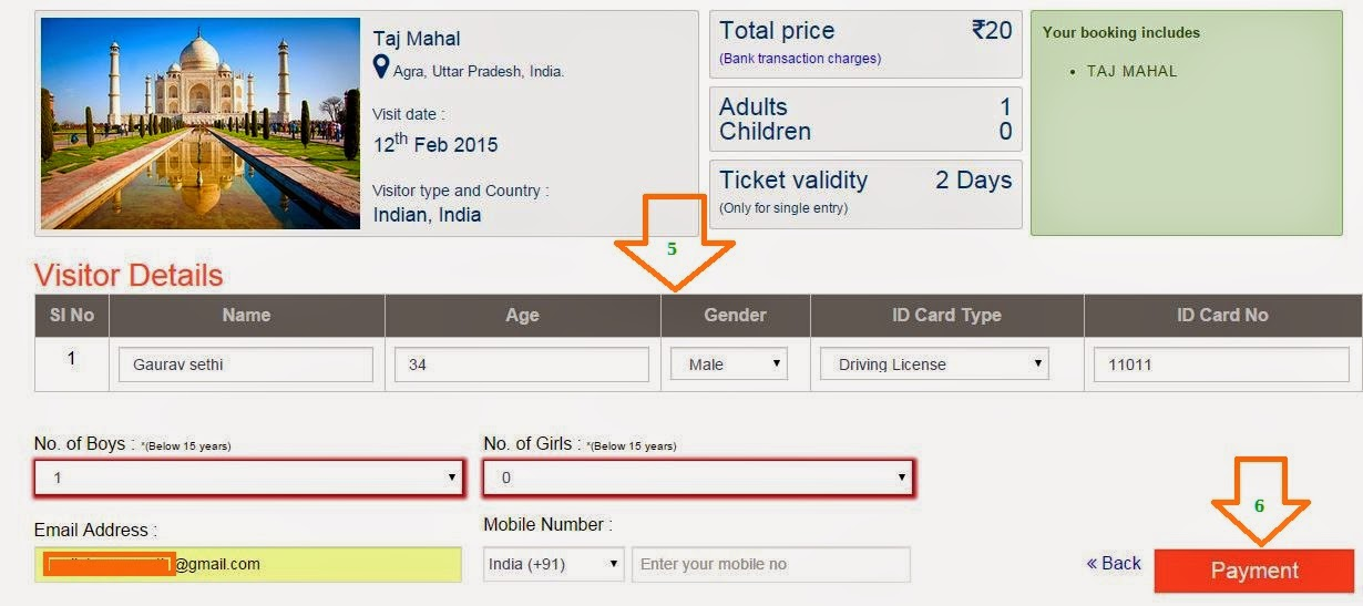how to include ticket id in irctc