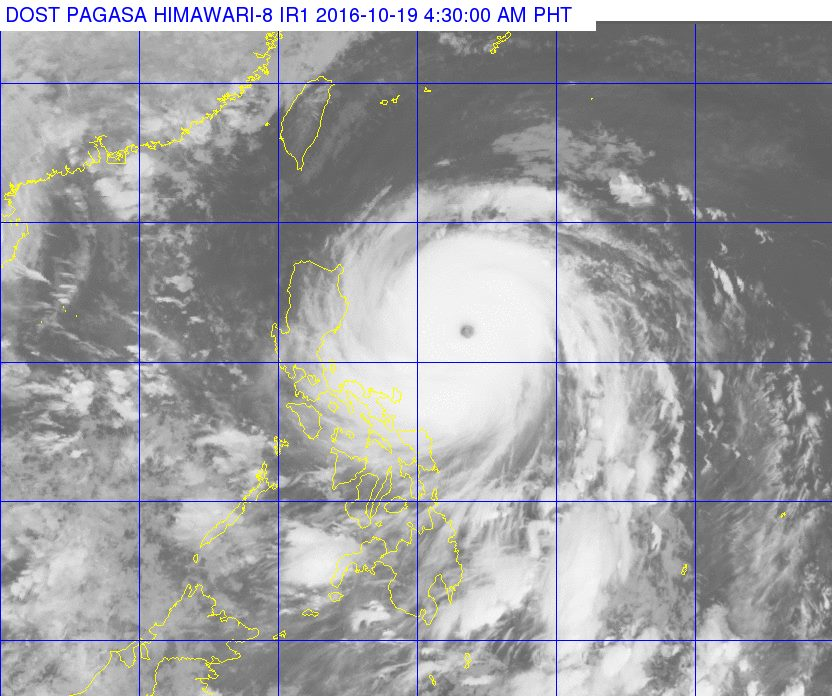 Typhoon Lawin October 19 update