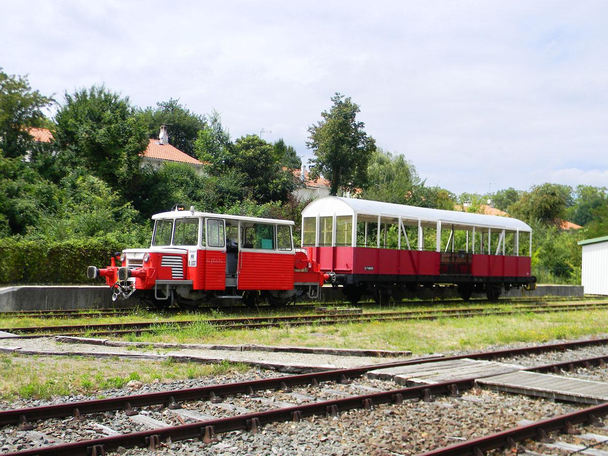 Semaine de vacances à Nérac, Lot-et-Garonne - Petit train touristique