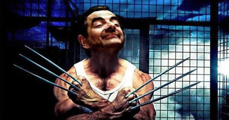 Hilarious Images Of Our Beloved Mr. Bean Photoshopped Into Heroes Of Popular Movies