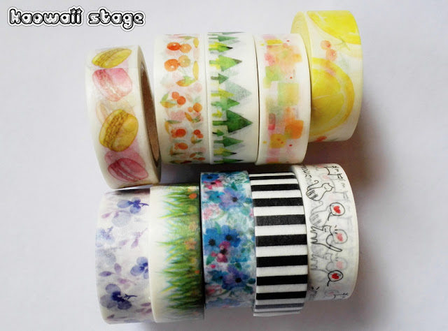 washi tapes haul
