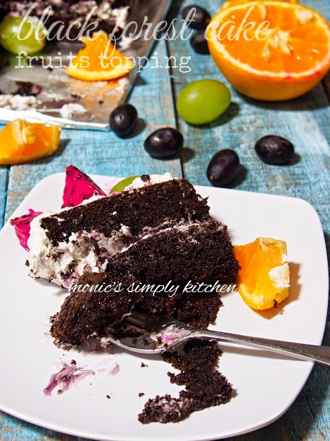 resep black forest cake