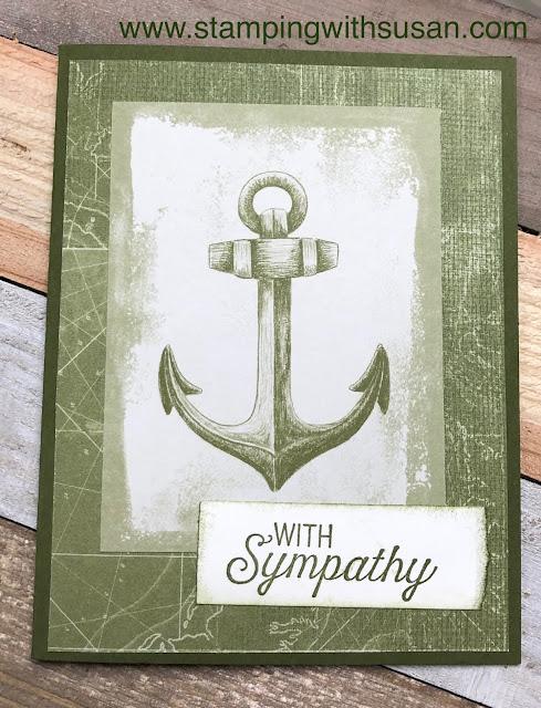 Stampin' Up!, Come Sail Away Memories & More Card Pack, www.stampingwithsusan.com