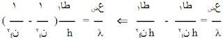 حساب الأطوال الموجية لطيف ذرة الهيدروجين، طيف ذرة الهيدروجين، حساب ثابت ريدبيرج، عدد خطوط طيف ذرة الهيدروجين، مستويات ذرة الهيدروجين، شرح دروس فيزياء الصف الثالث الثانوي علمي، منهج اليمن