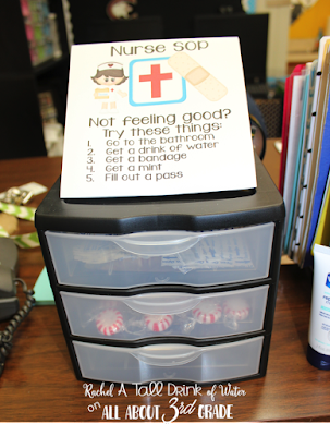 9 elementary classroom organization ideas that will save your teacher sanity! www.allabout3rdgrade.com