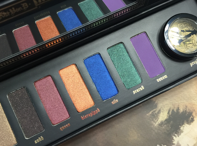 Kat Von D Serpentina Palette - Review, Swatches