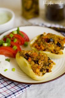 (Faszerowana papryka po marokańsku