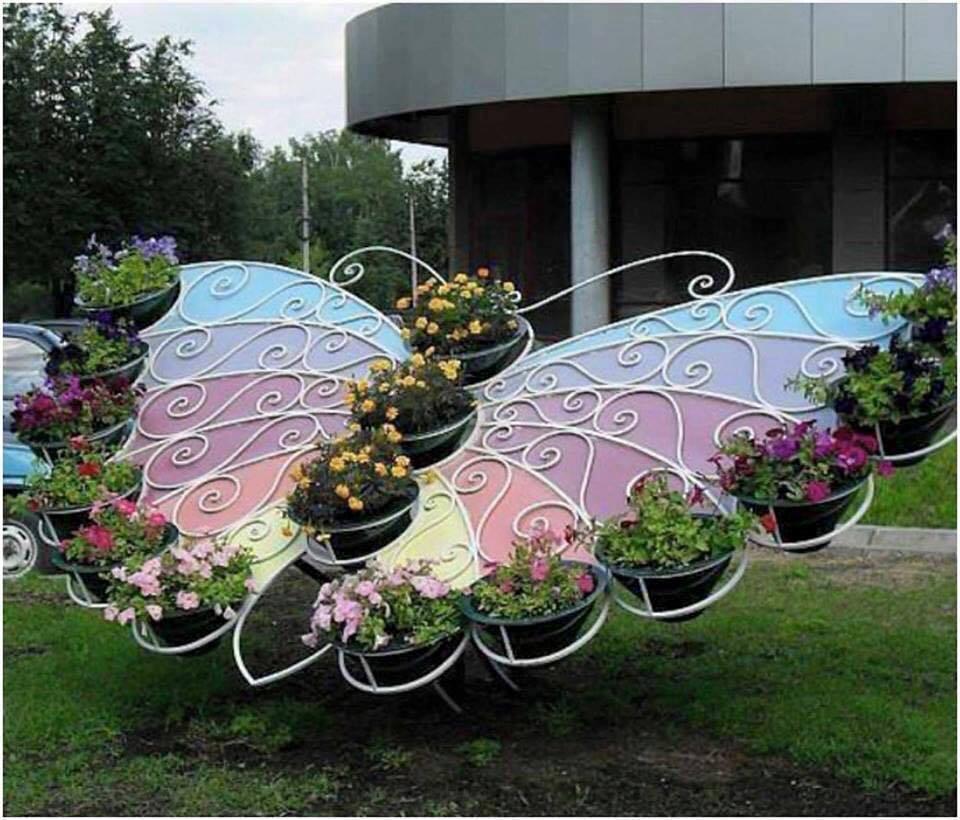 Beautiful Handmade Garden Decorations - Home Decor on Handmade Diy Garden Decor  id=74085
