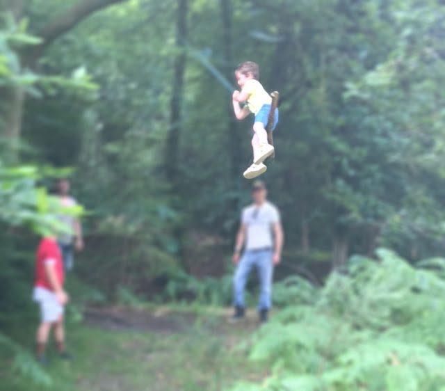 Rope Swing Forest of dean