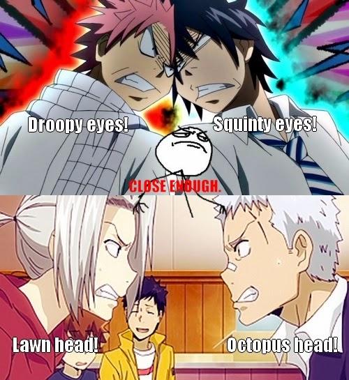 Fairy Tail Memes Natsu And Gray