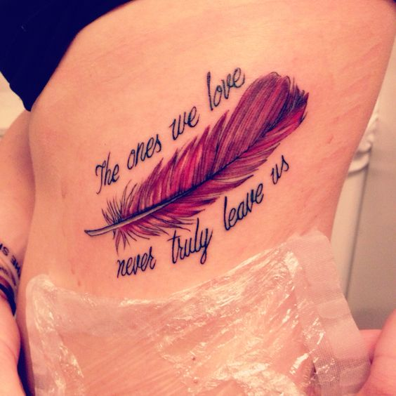 Tattoo Quotes For Someone Who Has Died : Mytattooland emotional memorial tattoos