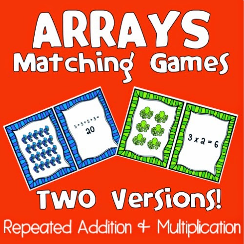 Number Names Worksheets beginning multiplication games : The Owl Teach: ARRAYS are Springing Up EVERYWHERE!