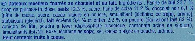 Lulu l'Ourson Chocolat - ingrédients - Gâteau enfant
