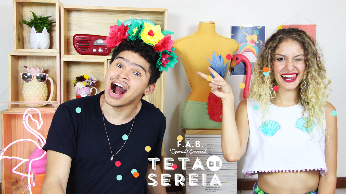 blog do math DIY carnaval fantasia sereia