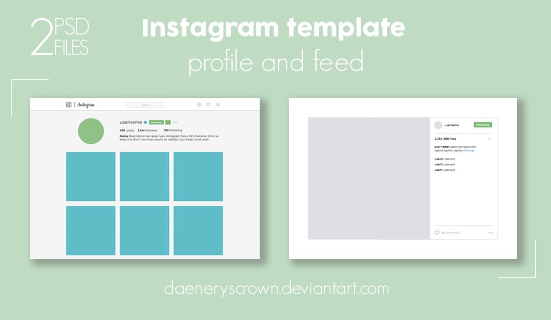 Dlolleys help free instagram social media template round for Free instagram template