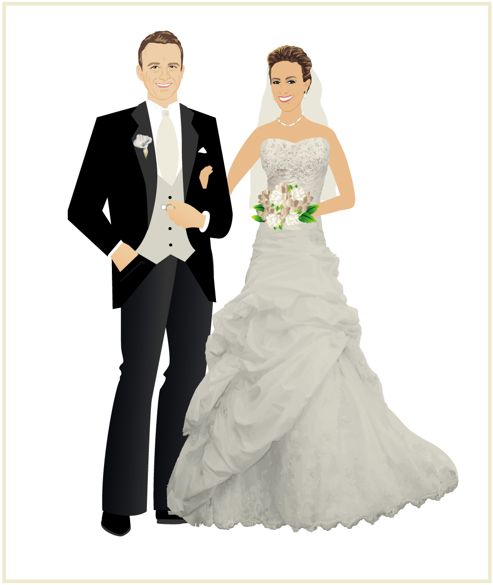 Bride And Groom In 33