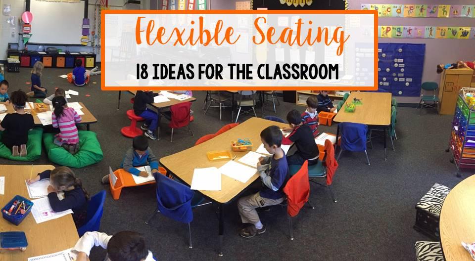 Kindergarten Is Grrreat 18 Flexible Seating Ideas For