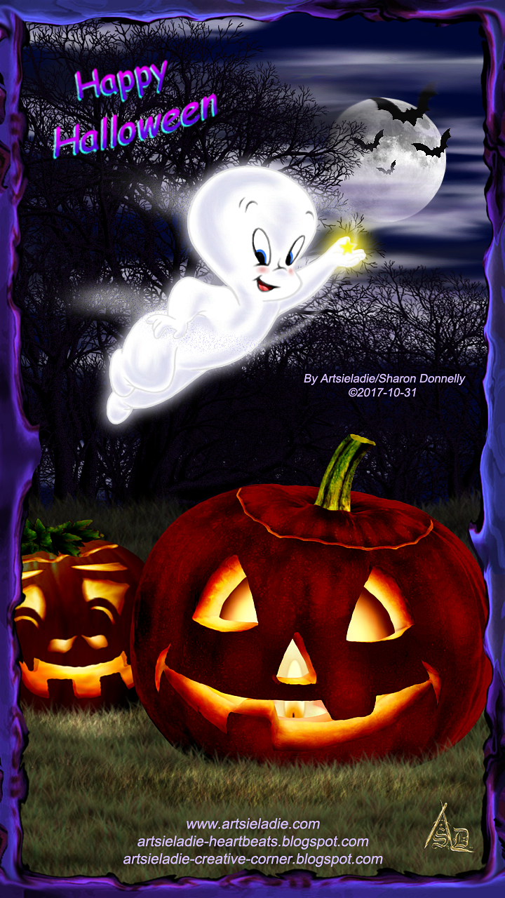Casper-n-Jack - art by/copyrighted to Artsieladie