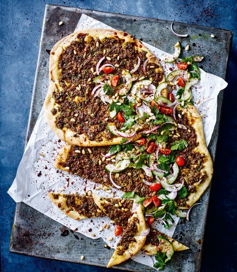 Lahmacun is a traditional Middle Eastern flatbread recipe that is also known as Turkish P Lahmacun Recipe