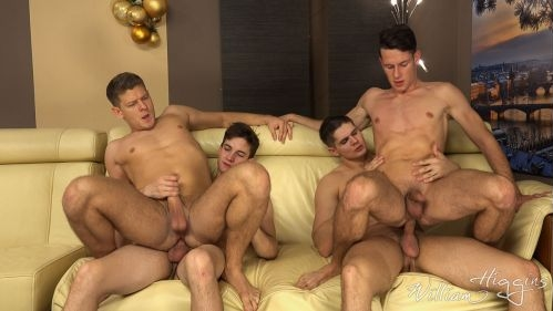 Xmas Wank Party 2016, Part 2 RAW – WANK PARTY