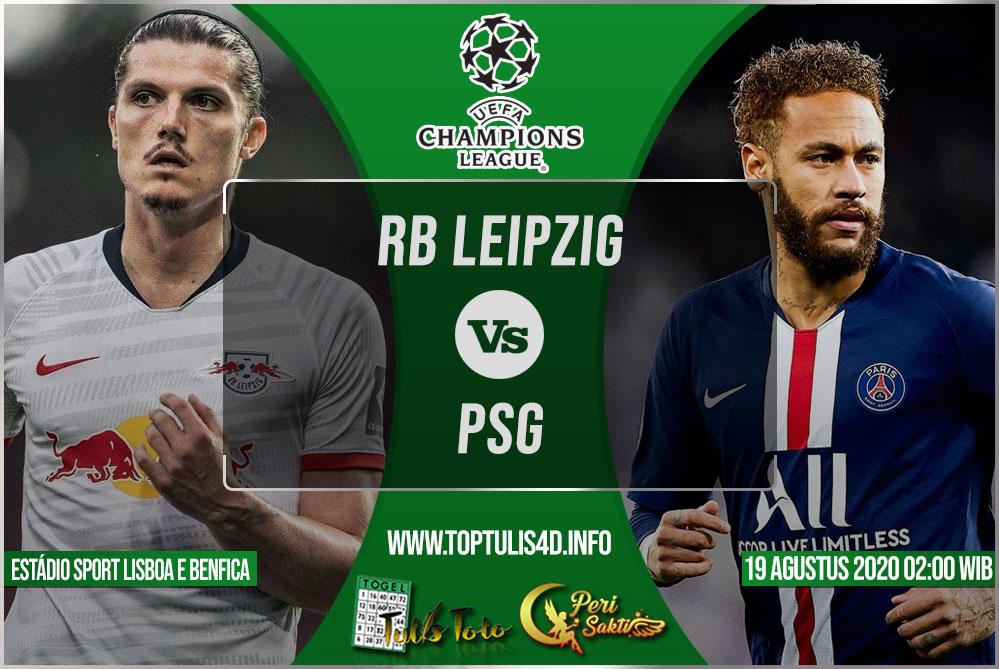 Prediksi RB Leipzig vs PSG 19 Agustus 2020