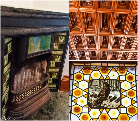 Detalles Capricho de Gaudi. Comillas