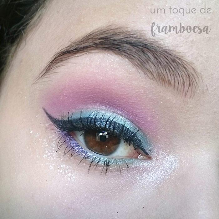 Maquiagem inspirada em sereia passo a passo