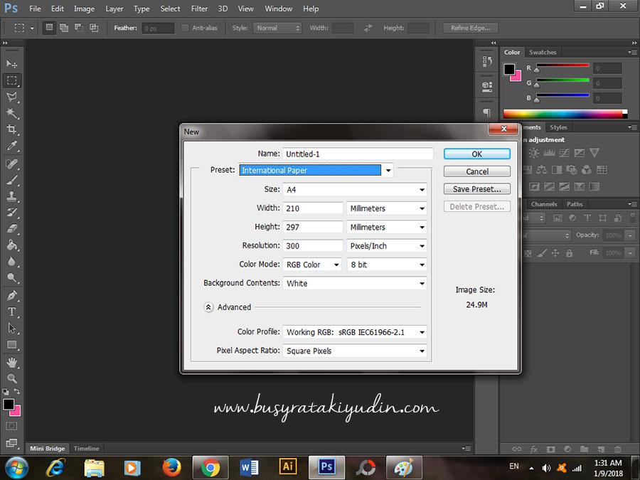 Cara Print Gambar Polaroid Ukuran 2r Di Photoshop