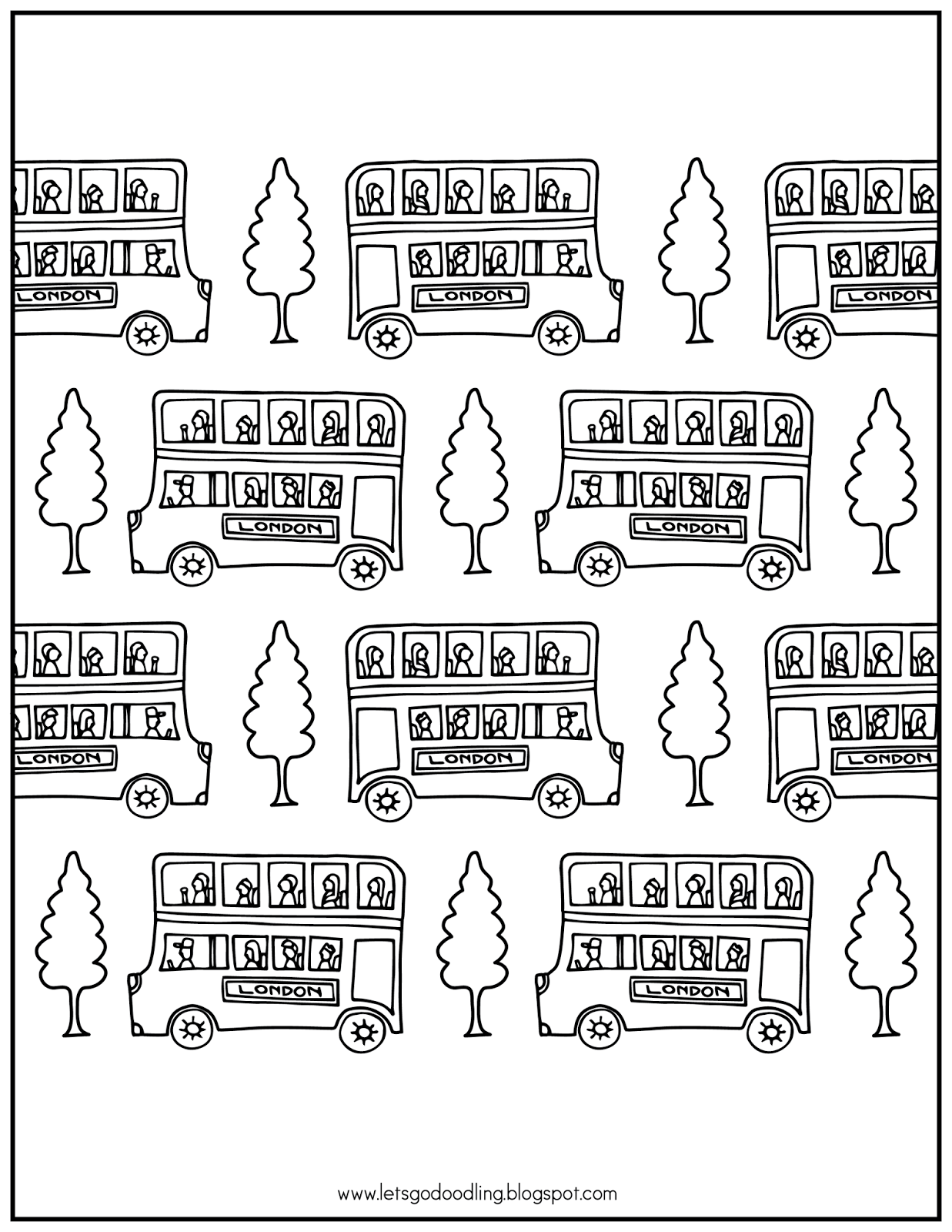 how to draw a london bus step by step