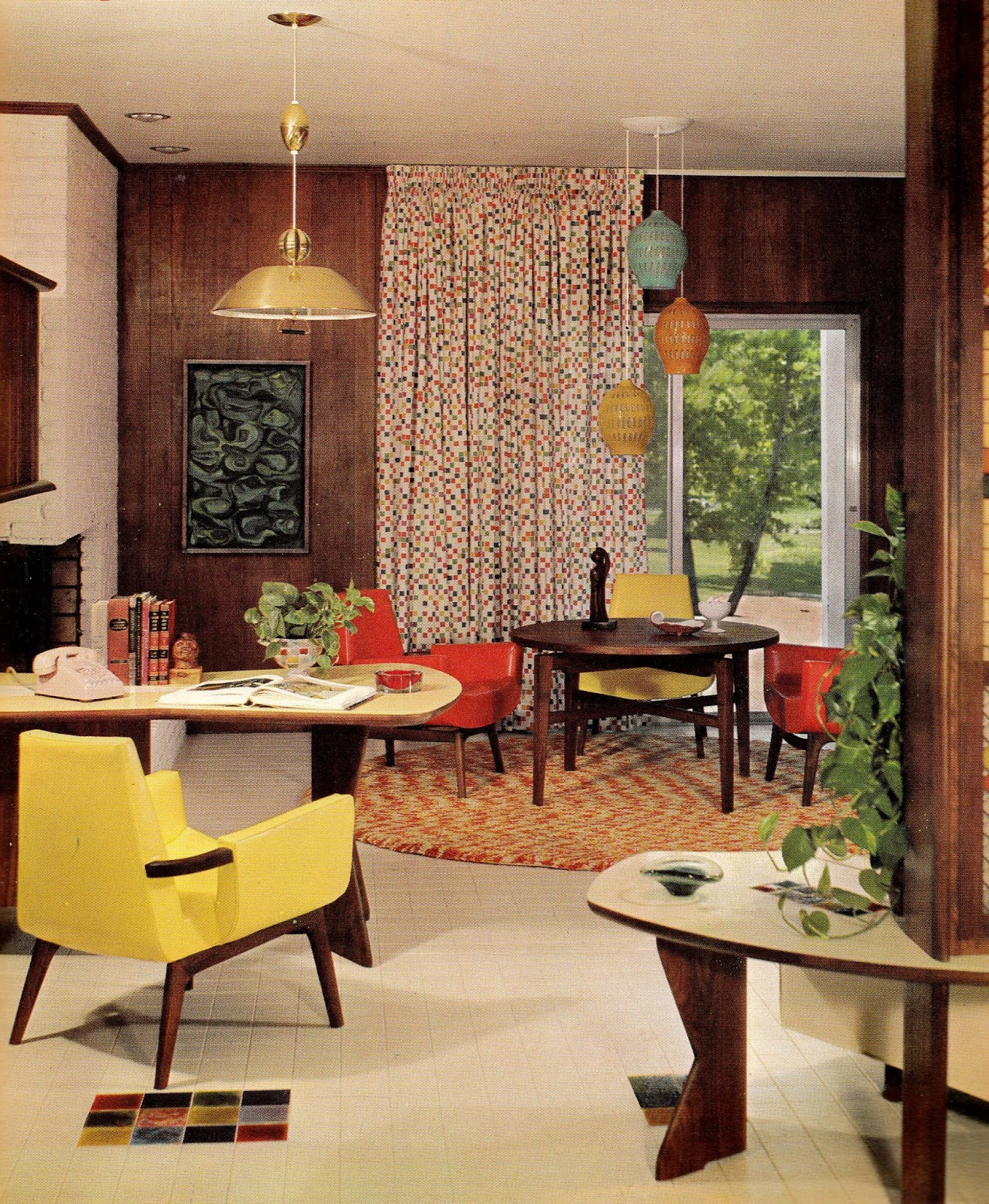 Home Interior Design Ideas Hyderabad: 1960s Interior D Cor: The Decade Of Psychedelia Gave Rise