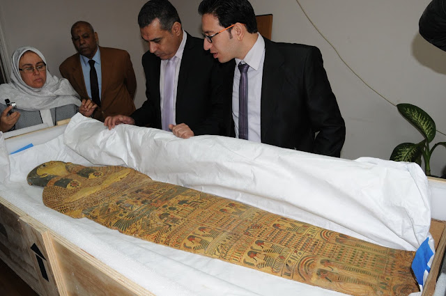 Five ancient Egyptian artefacts smuggled to US repatriated