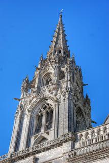 Torre de la  Catedral de Chartres, Francia