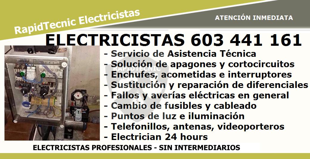 Reparaciones electricistas castell n de la plana 603 441 161 - Electricistas en castellon ...