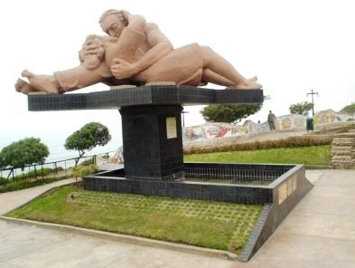 Foto del Parque de los Enamorados de Miraflores (Lima-Perú)