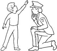 דפי צביעה משטרה