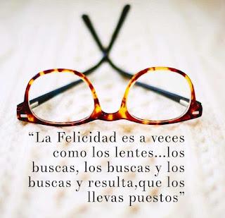 Miércoles Mudo: Las Gafas de tu Felicidad