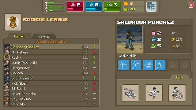 Punch Club Games Screenshots