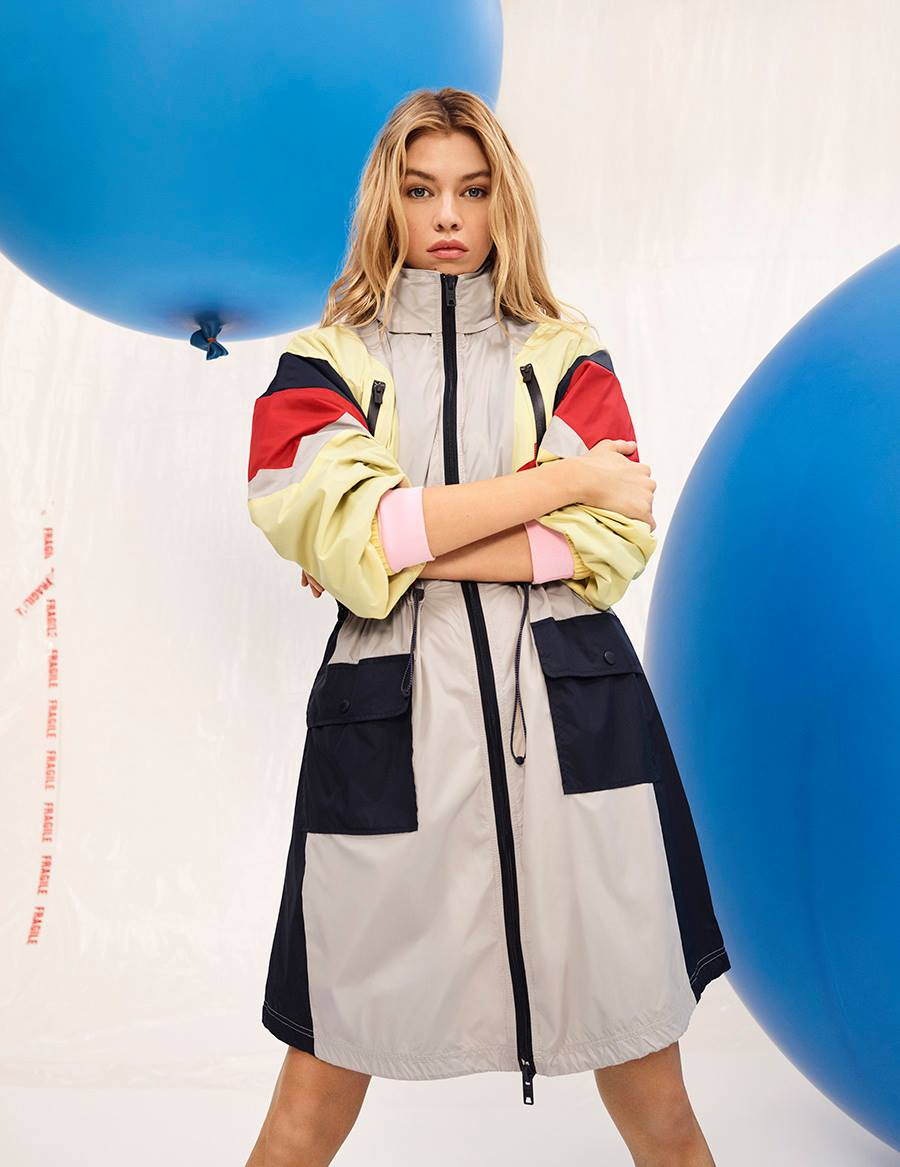 Pepe Jeans Spring/Summer 2018 Campaign featuring Stella Maxwell