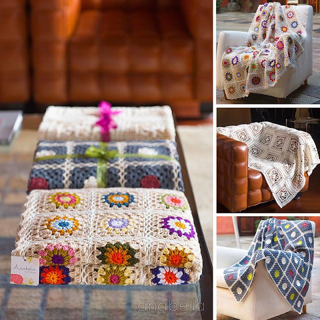 Anabelia Craft Design crochet blanket